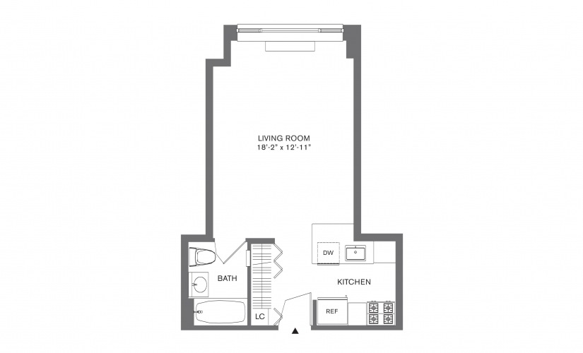 Available Studio One Two And Three Bedroom Apartments In New York 88 Leonard